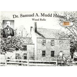 c. 1865 Civil War/Lincoln Assassination Relic from Dr. Samuel Mudds House