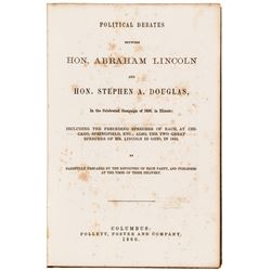 Two Civil War Abraham Lincoln Related Books Political Debates and on Gettysburg