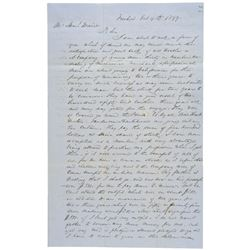 1849 + 1851 TWO California Gold Rush Pioneers Seeking Fortune Related Letters