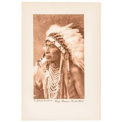 Harry Moccasin, Custer Scout Warned Gen Custer of Indians at the Little Big Horn