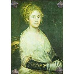 Francisco Goya Spanish Romanticist Print on Board
