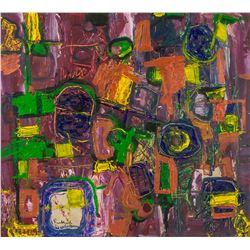 Richard Diebenkorn American Abstract Oil on Canvas