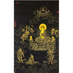 Print Tangka on Canvas Ding Guanpeng ?-1771