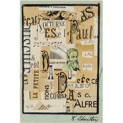 Kurt Schwitters German Dadaist Mixed Media