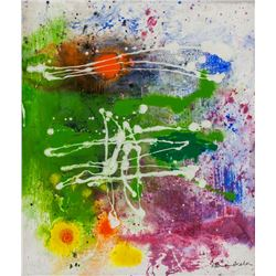 Helen Frankenthaler American Abstract Oil on Canva