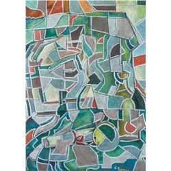 Georges Braque French Fauvist Oil on Canvas