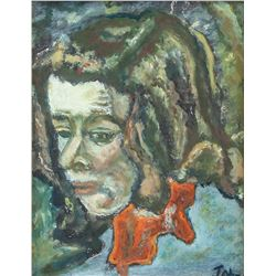 Augustus John 1878-1961 British Gouache