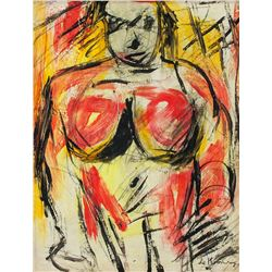 Willem de Kooning American Abstract OOC Portrait