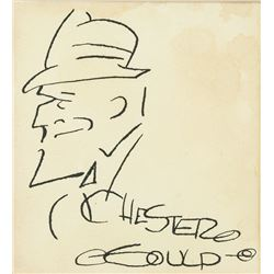 Chester Gould American Pop Art ink paper