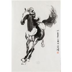 Xu Beihong 1895-1953 Chinese Ink on Paper Horse
