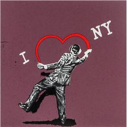 Banksy British Pop Art Silkscreen Lithograph 6/300