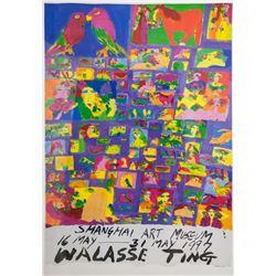 Walasse Ting 1929-2010 Chinese-American Print