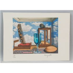 Rene Magritte Belgian Lithograph 20/200 Signed