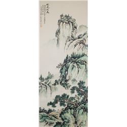 Wu Hufan 1894-1968 Chinese Watercolor Landscape