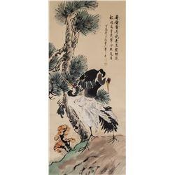Xinluo Shanren 1682-1756 Chinese Watercolor