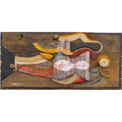 Alexander Archipenko Ukrainian Cubist Mixed Media