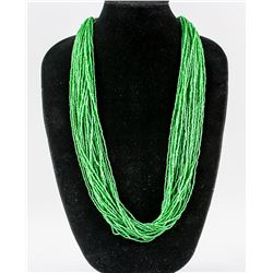 Small Beaded Jade Necklace