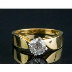 18kt Yellow Gold & 0.90ct Diamond Ring CRV$4950