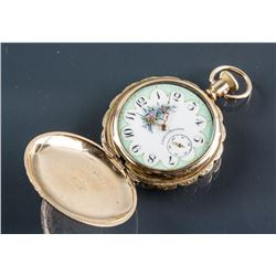 1885-1927 US Waltham Keystone Pocket Watch Working