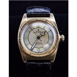 Rolex Men's 18K Rose Gold Oyster Perpetual Watch