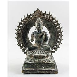 Chinese Bronze Cast Shakyamuni Buddha Statue