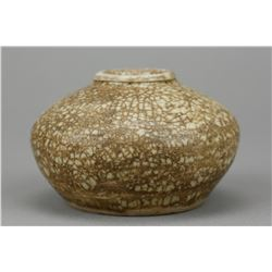 Chinese Yuan Small Crackle Porcelain Waterpot