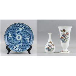 3 Assorted Japanese and British Porcelain Items