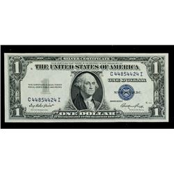 1935E United States 1 Dollar Silver Certificate UC