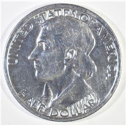1934 BOONE COMMEM HALF DOLLAR, GEM BU