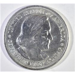1893 COLUMBIAN COMMEM HALF DOLLAR, CH BU FLASHY!!