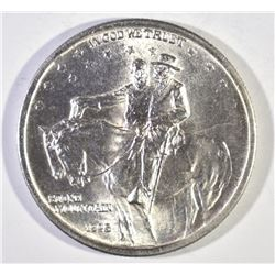 1925 STONE MOUNTAIN COMMEM HALF DOLLAR, CH BU+