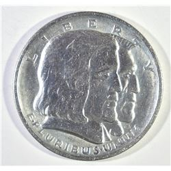 1936 LONG ISLAND COMMEM HALF DOLLAR, GEM  BU