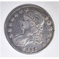 1832 BUST HALF DOLLAR, XF