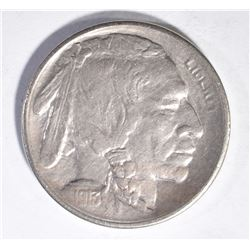 1913-S TYPE-1 BUFFALO NICKEL, CH BU