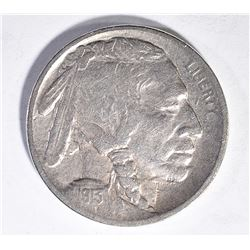 1913-S TYPE-2 BUFFALO NICKEL, CH BU