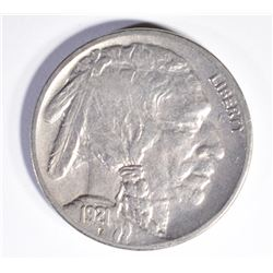 1921 BUFFALO NICKEL, XF