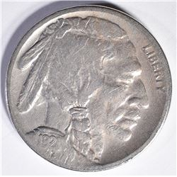 1921-S BUFFALO NICKEL, FINE