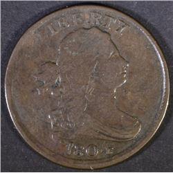 1804 HALF CENT  F/VF