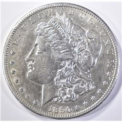1890-CC MORGAN DOLLAR  AU