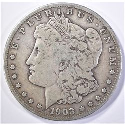 1903-S MORGAN DOLLAR   VG/F