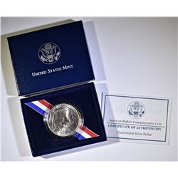 2001 UNC BUFFALO COMMEM SILVER DOLLAR
