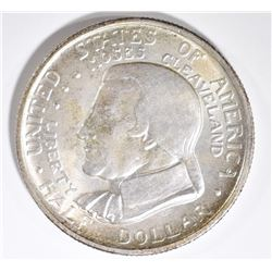 1935 CLEVELAND COMMEM HALF DOLLAR, GEM BU
