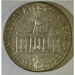 1946 IOWA COMMEM HALF DOLLAR, GEM BU