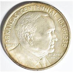1936-S ROBINSON COMMEM HALF DOLLAR, GEM BU