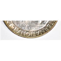 1936-D SAN DIEGO COMMEM HALF DOLLAR, GEM BU