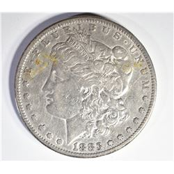 1883-S AU MORGAN DOLLAR