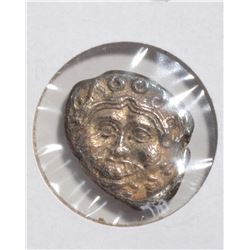 5TH CENTURY BC C. SILVER DRACHM APOOLONIA