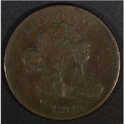 1806 HALF CENT  VF