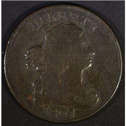 1807 HALF CENT  VF