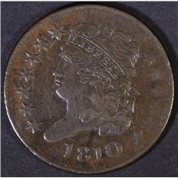 1810 HALF CENT  VF  BETTER DATE